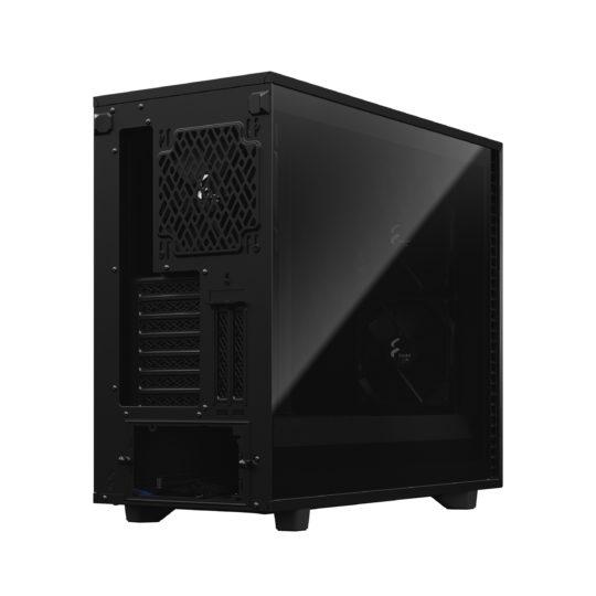 Fractal Design Define 7 TG Dark Tint Side window, Black, E-ATX, Power supply included No