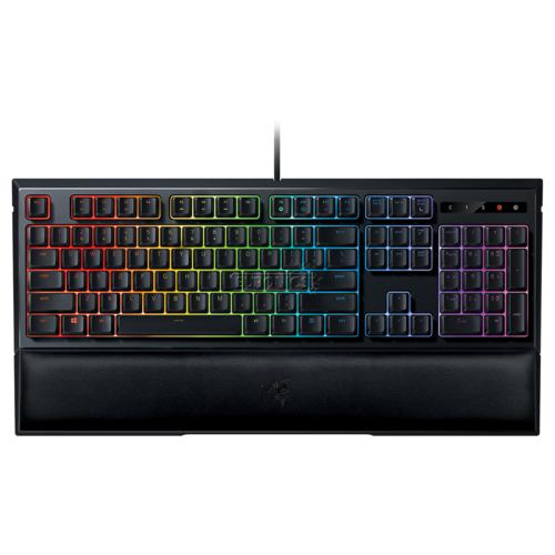 Razer Ornata V2, Gaming keyboard, RGB LED light, Nordic, Black, Wired