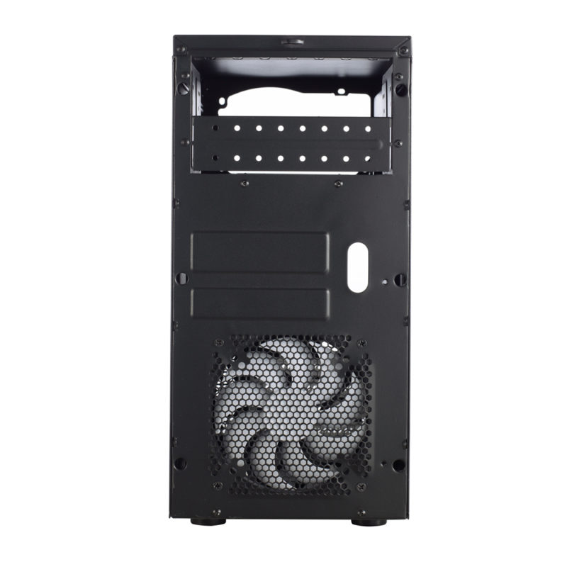 Fractal Design CORE 1100 Black, Micro ATX, Power supply included No