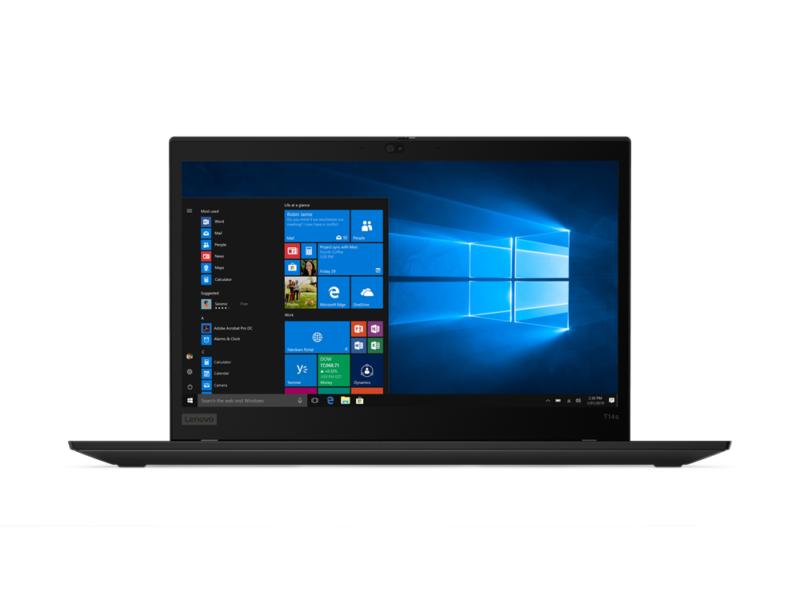 "Lenovo ThinkPad T14s (Gen 1) Black, 14.0 "", IPS, Full HD, 1920 x 1080, Matt, Intel Core i5, i5-10210U, 8 GB, SSD 256 GB, Intel UHD, No Optical drive, Windows 10 Pro, 802.11ax, Bluetooth version 5.0, LTE Upgradable, Keyboard language English, Keyboard backlit, Warranty 36 month(s), Battery warranty 12 month(s)"