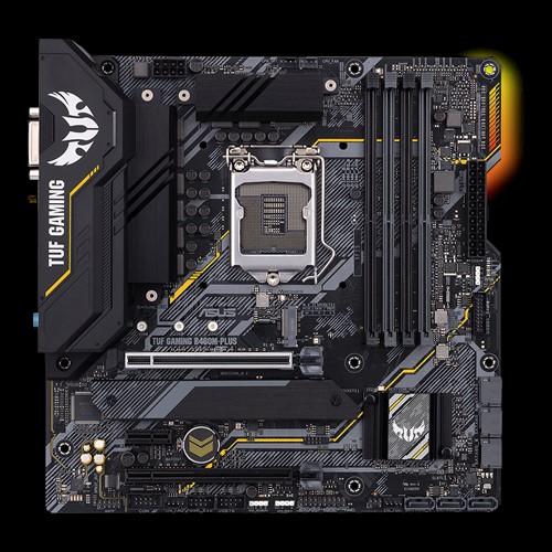 Asus GAMING B460M-PLUS Memory slots 4, Processor family Intel, Micro ATX, DDR4, Processor socket LGA1200, Chipset Intel B