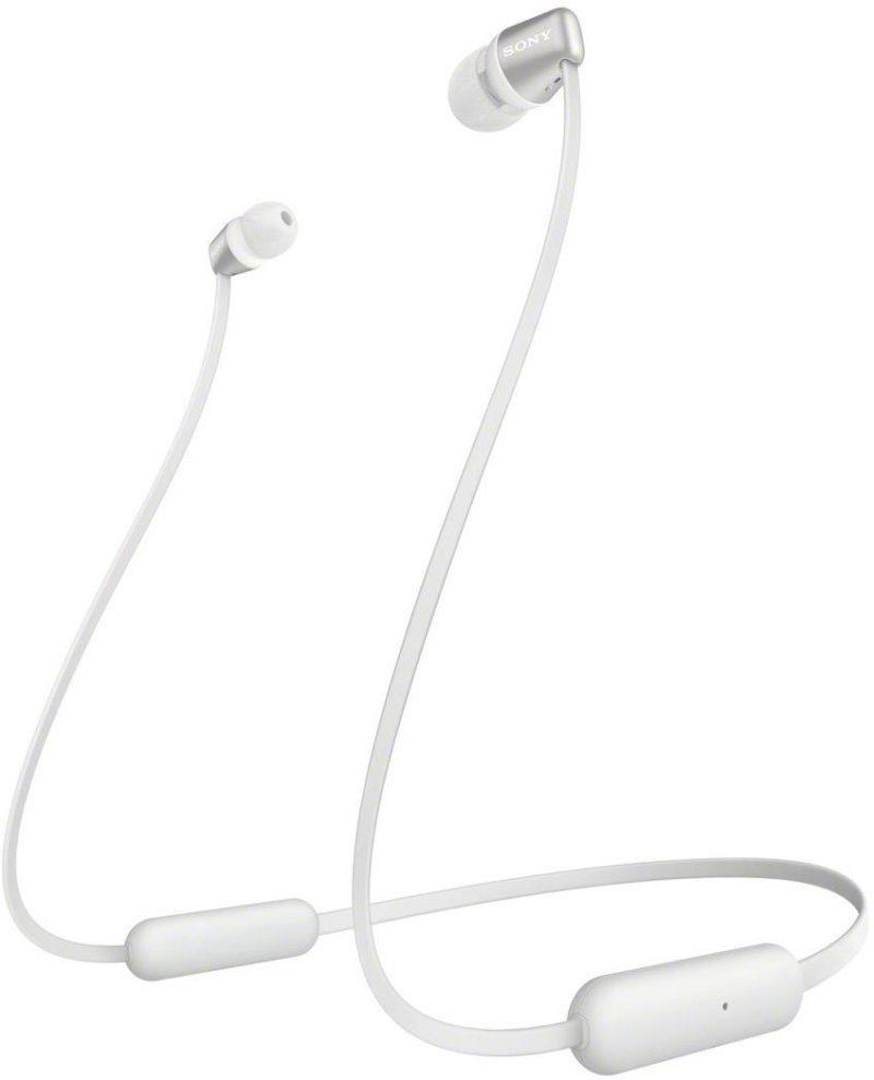 Sony Headphones WIC310W In-ear, Microphone, Wireless, White