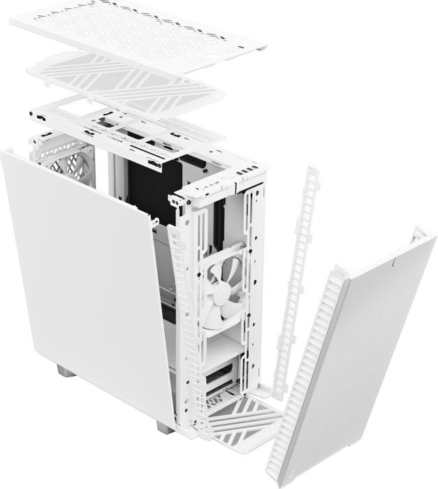 Fractal Design Define 7 Compact Side window, White,  Mid-Tower, Mini-ITX/ATX /microATX