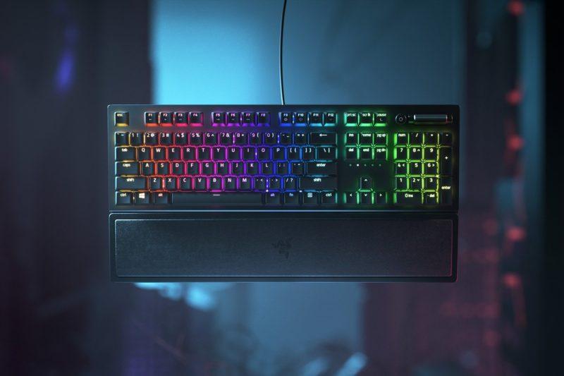 Razer BlackWidow V3 Mechanical Gaming Keyboard, RGB LED light, US, Wired, Black