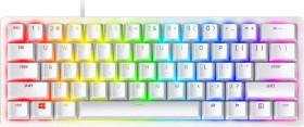 Razer Huntsman Mini 60%, Gaming, Opto-Mechanical, RGB LED light, Nordic, Mercury White, Wired