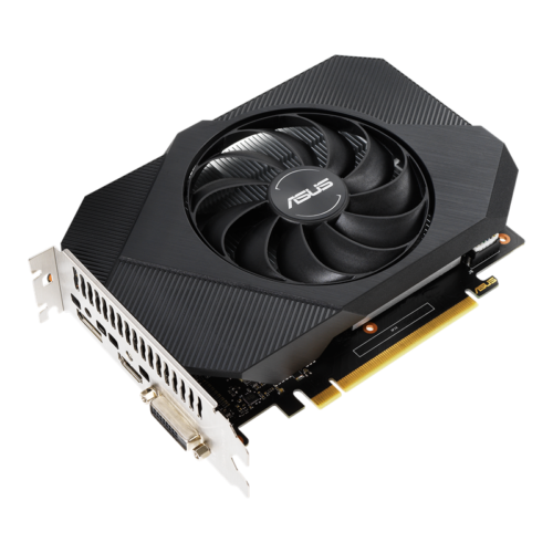 Asus PH-GTX1650-O4GD6 NVIDIA, 4 GB, GeForce GTX 1650, GDDR6, PCI Express 3.0 x16, Processor frequency 1410 MHz, DVI-D ports quantity 1, HDMI ports quantity 1