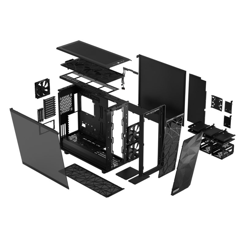 Fractal Design Meshify 2 XL Light Tempered Glass Black