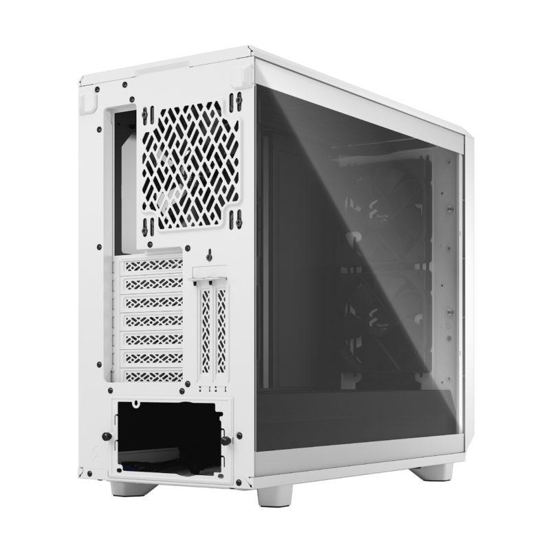 Fractal Design Meshify 2 Clear Tempered Glass White
