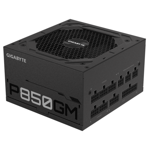 Power Supply|GIGABYTE|850 Watts|Efficiency 80 PLUS GOLD|PFC Active|MTBF 100000 hours|GP-P850GM