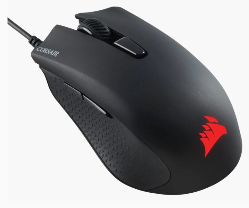 Corsair Gaming Mouse HARPOON RGB PRO FPS/MOBA Wired, 12000 DPI, Black