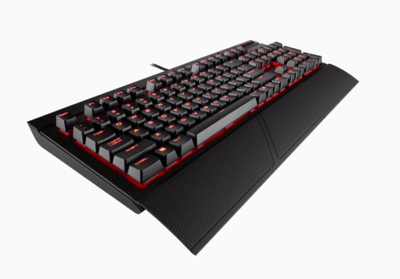 Corsair Mechanical Gaming Keyboard K68 NA, Wired, Black/Red