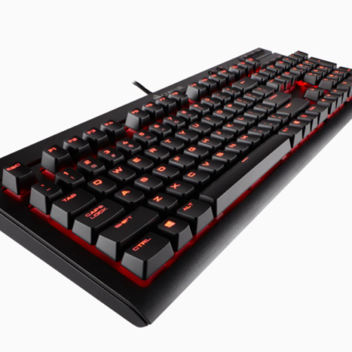 Corsair Mechanical Gaming Keyboard K68 NA, Wired, Black/Red