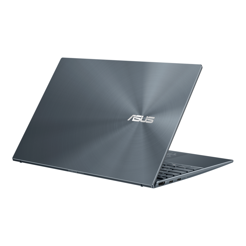 "Asus ZenBook UX325EA-KG235T Pine Grey, 13.3 "", OLED, FHD, 1920 x 1080 pixels, Glossy, Intel Core i5, i5-1135G7, 8 GB, LPDDR4X on board, SSD 512 GB, Intel Iris Xe, No ODD, Windows 10 Home, 802.11ax, Bluetooth version 5.0, Keyboard language English, Keyboard backlit, Warranty 24 month(s), Battery warranty 12 month(s)"