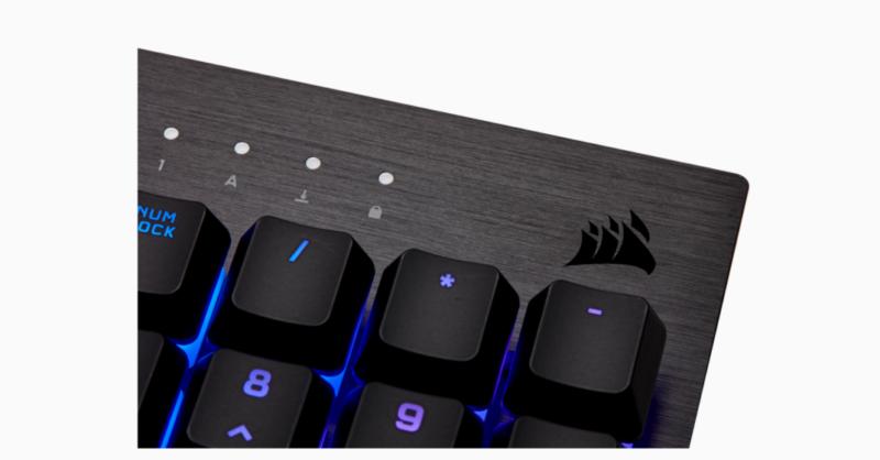 Corsair K60 RGB PRO Mechanical Gaming Keyboard, RGB LED light, NA, Wired, Black