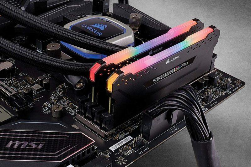 Corsair C18 AMD Ryzen Memory Kit VENGEANCE RGB PRO 32 GB, DDR4, 3600 MHz, PC/server, Registered No, ECC No