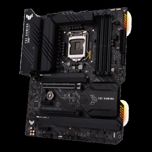 Asus TUF GAMING Z590-PLUS Processor family Intel, Processor socket LGA1200, DDR4, Memory slots 4, Supported hard disk drive interfaces M.2, SATA, Number of SATA connectors 6, Chipset Intel Z, ATX