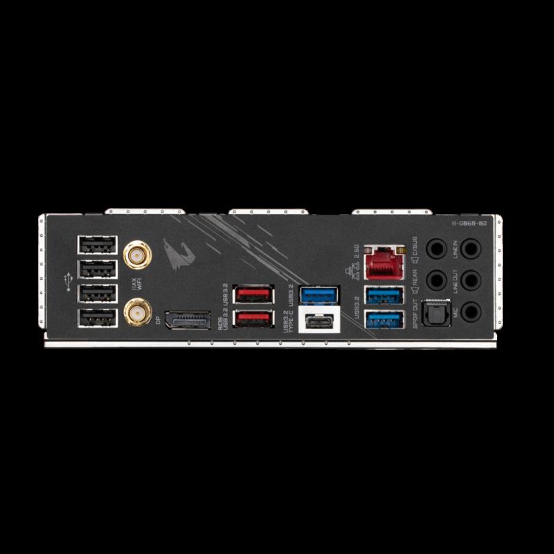 Gigabyte Z590 AORUS ELITE AX 1.0 M/B Processor family Intel, Processor socket LGA1200, DDR4 DIMM, Memory slots 4, Number of SATA connectors 6, Chipset Intel Z, ATX