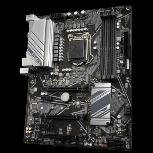 Gigabyte Z590 D 1.0 M/B Processor family Intel, Processor socket LGA1200, DDR4 DIMM, Memory slots 4, Number of SATA connectors 6 x SATA 6Gb/s connectors, Chipset Intel Z, ATX