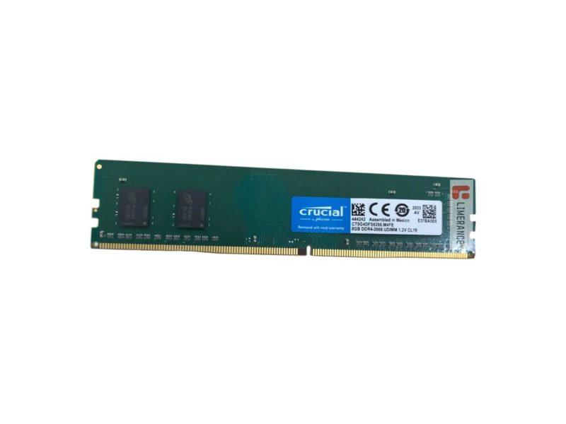 Crucial 8 GB, DDR4, 2666  MHz, Notebook, Registered No, ECC No