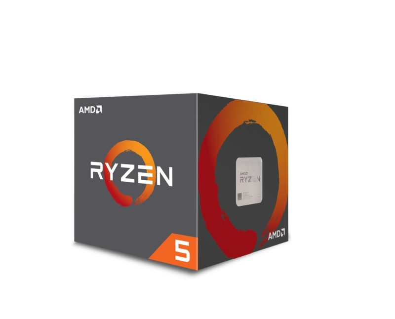 AMD Ryzen 5 1600, 3.6 GHz, AM4, Processor threads 12, Packing Retail, Processor cores 6, Component for PC