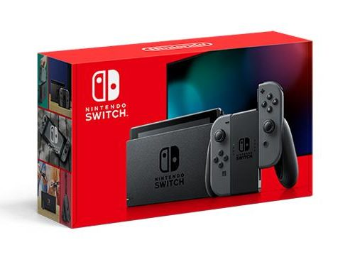 CONSOLE SWITCH/GRAY 10002199 NINTENDO