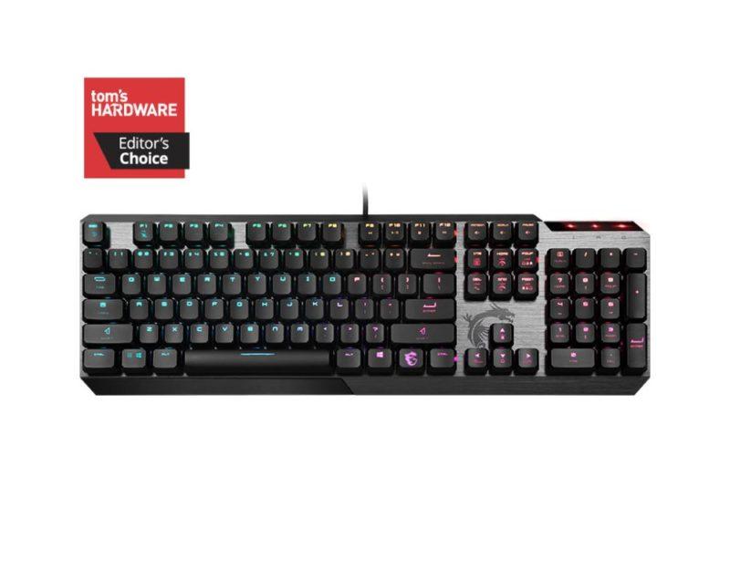 MSI VIGOR GK50 Gaming Keyboard, US Layout, Wired, Black