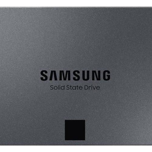 SSD|SAMSUNG|870 QVO|1TB|Write speed 530 MBytes/sec|Read speed 560 MBytes/sec|2,5″|MTBF 1500000 hours|MZ-77Q1T0BW