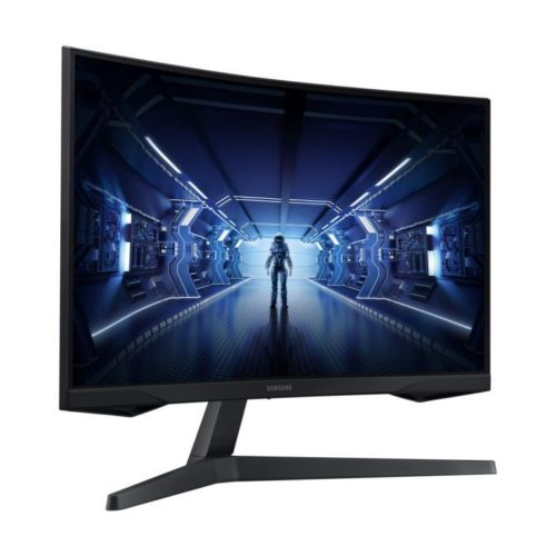 LCD Monitor|SAMSUNG|C27G55TQWR|27″|Gaming|Panel VA|2256×1504|16:9|144Hz|1 ms|Tilt|Colour Black|LC27G55TQWRXEN