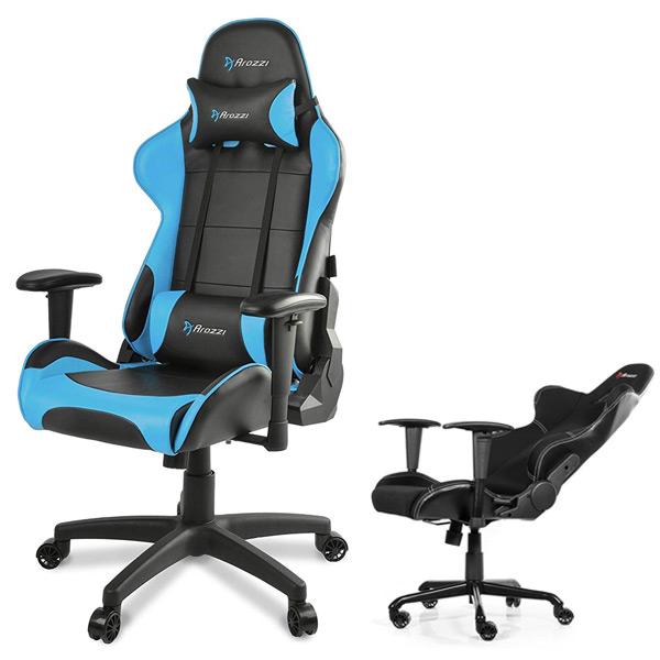 Arozzi Verona V2 Gaming Chair, Blue