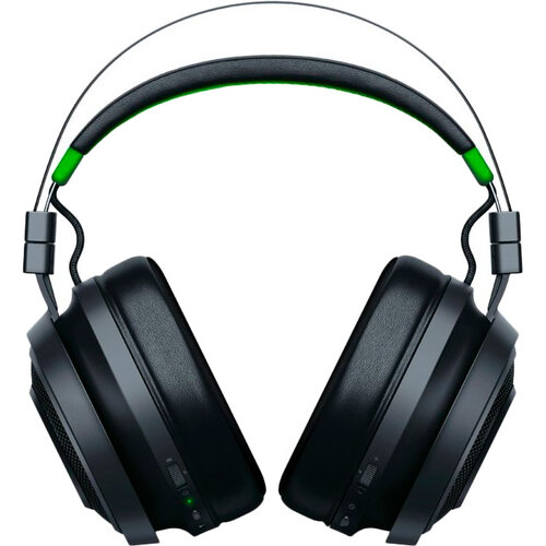 Razer Gaming Headset for Xbox One, Wireless, Nari Ultimate, Black/Green, Built-in microphone