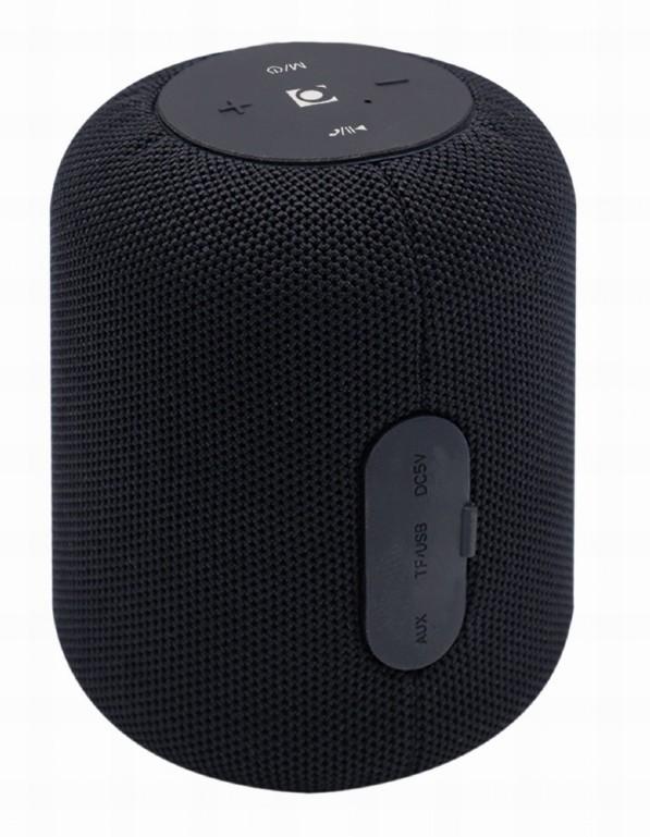 Portable Speaker GEMBIRD Portable/Wireless 1xMicroSD Card Slot Bluetooth Black SPK-BT-15-BK