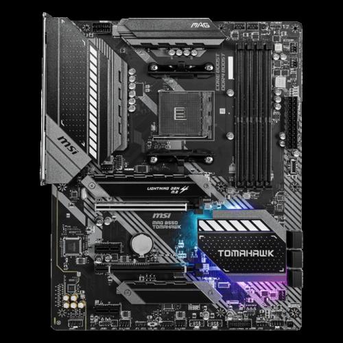 MSI MAG B550 TOMAHAWK Processor family AMD, Processor socket AM4, DDR4, Memory slots 4, Chipset AMD B, ATX