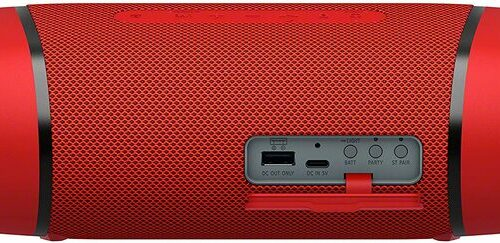 Sony Portable Bluetooth Speaker SRS-XB33 Extra Bass Coral Red