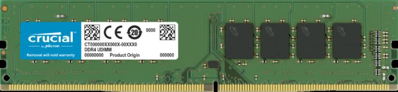 Crucial 8 GB, DDR4, 3200 MHz, PC/server, Registered No, ECC No