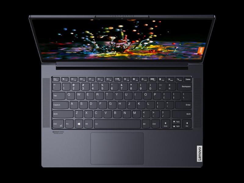 "Lenovo Yoga Slim 7 14ARE05 Slate Grey, 14 "", IPS, Full HD, 1920 x 1080, Anti-glare, AMD, Ryzen 7 4700U, 8 GB, SSD 512 GB, AMD Radeon, No Optical drive, Windows 10 Home, 802.11ax, Bluetooth version 5.0, Keyboard language English, Keyboard backlit, Warranty 24 month(s)"