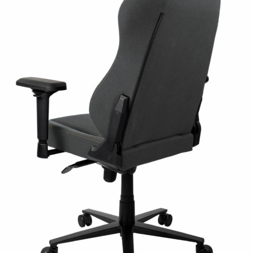 Arozzi Gaming Chair Primo Woven Fabric Black/Grey/Gold logo