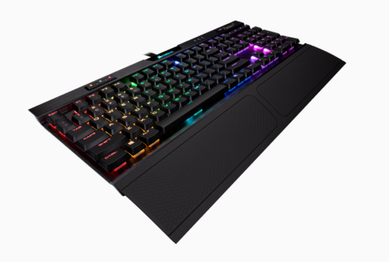 Corsair Mechanical Gaming Keyboard K70 MK.2 RGB LED light, NA, Wired, Black