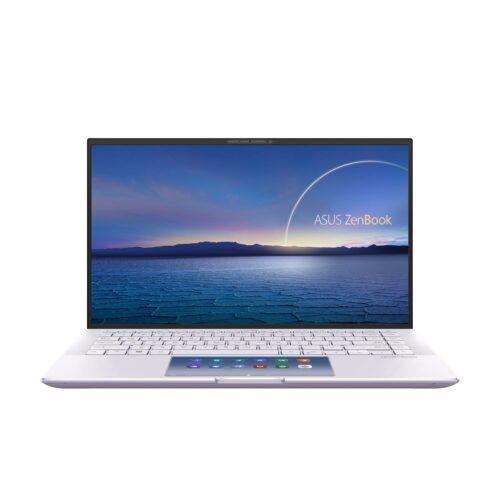 "Asus ZenBook UX435EG-A5149T Lilac Mist, 14.0 "", IPS, FHD, 1920 x 1080 pixels, Matt, Intel Core i5, i5-1135G7, 8 GB, LPDDR4X on board, SSD 256 GB, NVIDIA GeForce MX450, No ODD, Windows 10 Home, 802.11ax, Bluetooth version 5.0, Keyboard language English, Keyboard backlit, Warranty 24 month(s), Battery warranty 12 month(s)"