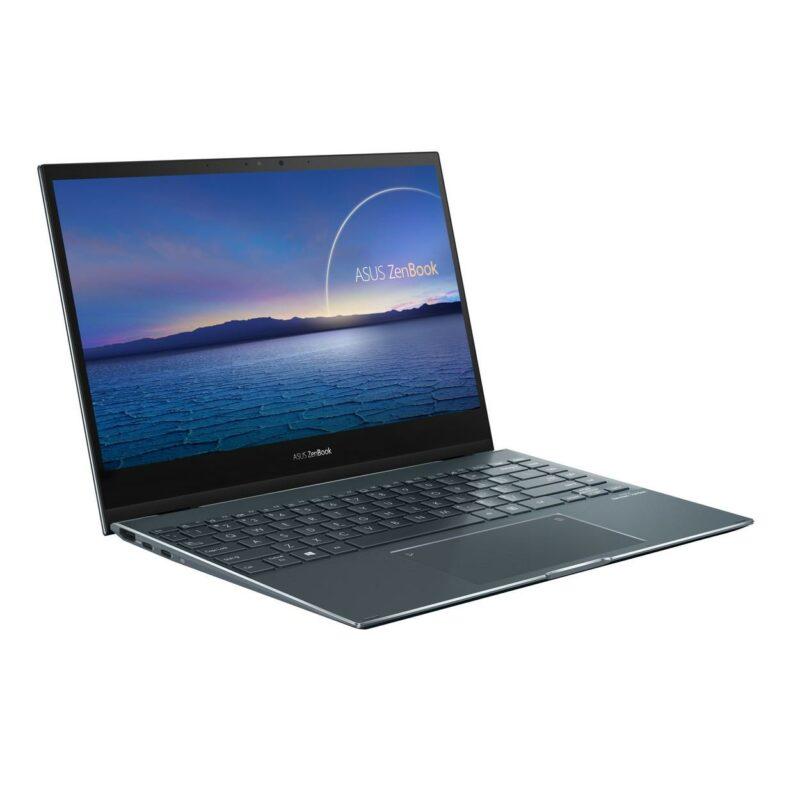 "Asus ZenBook Flip UX363EA-HP172T Pine Grey, 13.3 "", OLED, Touchscreen, FHD, 1920 x 1080 pixels, Gloss, Intel Core i5, i5-1135G7, 8 GB, LPDDR4X, SSD 512 GB, Intel Iris Xe, No ODD, Windows 10 Home, 802.11ax, Bluetooth version 5.0, Keyboard language English, Russian, Keyboard backlit, Warranty 24 month(s), Battery warranty 12 month(s)"