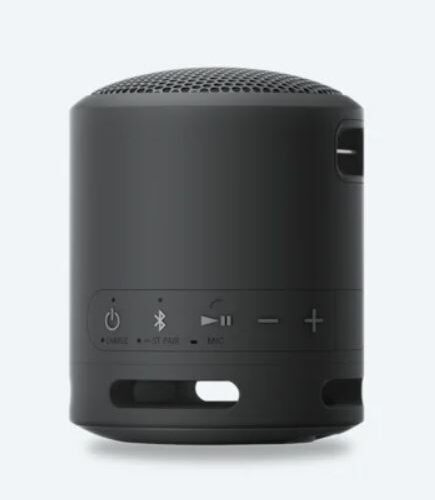 Sony SRS-XB13 Extra Bass Portable Wireless Speaker, Black