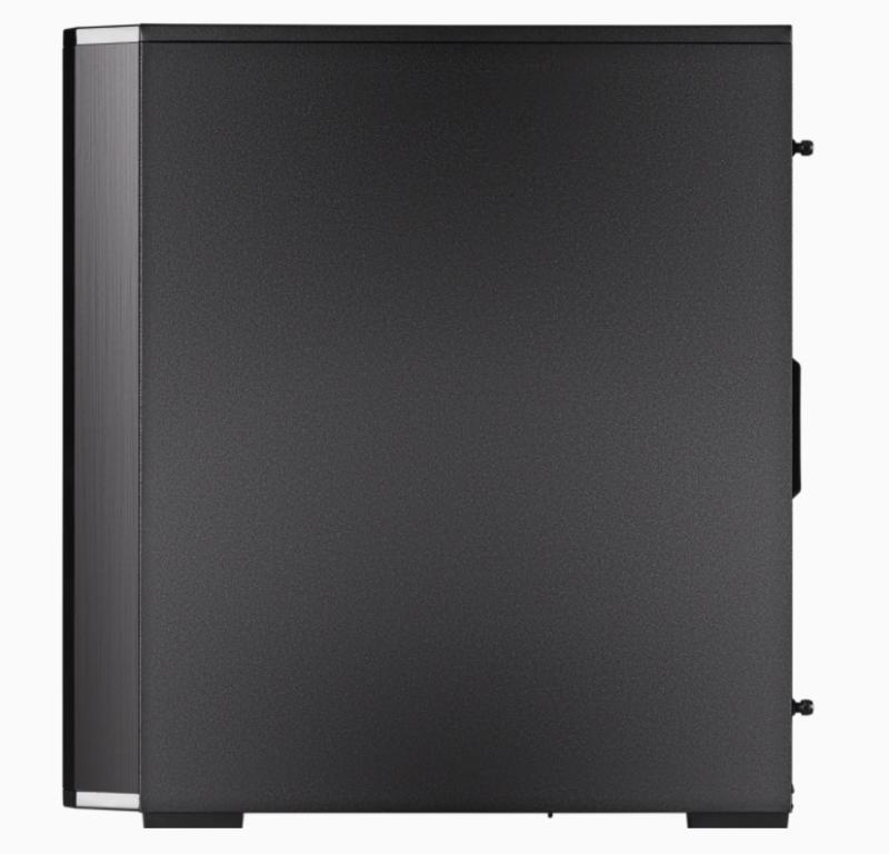 Corsair RGB Computer Case 175R Side window, Black, ATX, Power supply included No