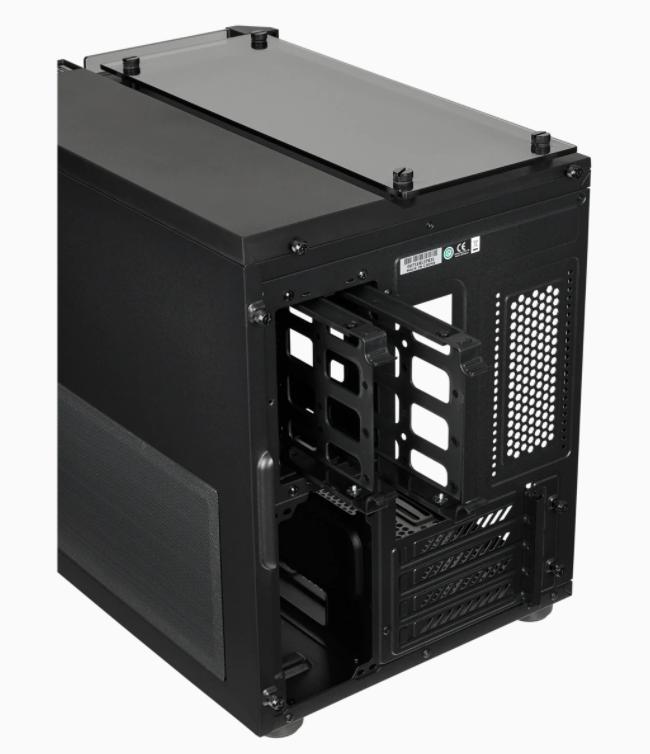 Corsair RGB Computer Case 280x Side window, Black, Micro ATX, Power supply included No