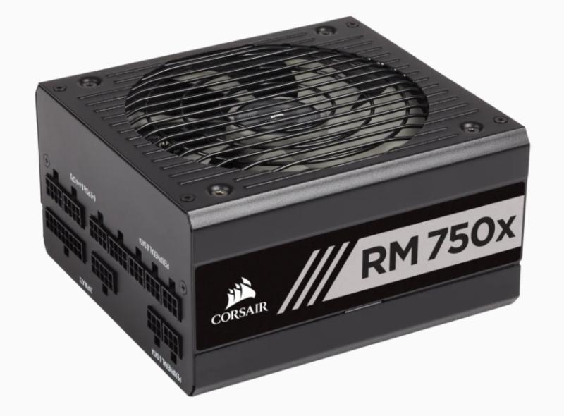Corsair Fully Modular PSU RMx Series RM750x 750 W, 80 PLUS GOLD certified
