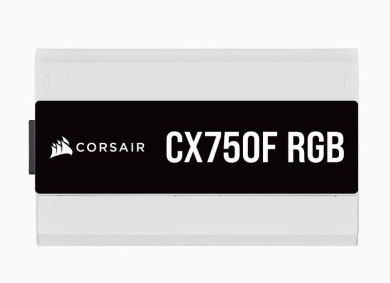 Corsair Fully Modular PSU CX Series CX750F RGB 750 W, 80 PLUS BRONZE certified