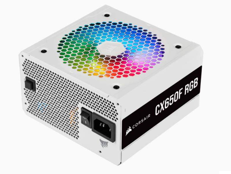 Corsair Fully Modular PSU CX Series CX650F RGB 650 W, 80 PLUS BRONZE certified