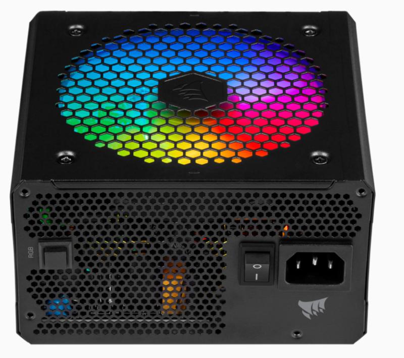 Corsair Fully Modular RGB PSU RM750F 750 W, 80 PLUS BRONZE certified