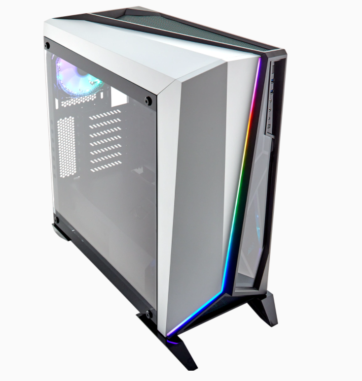 Corsair RGB Computer Case Spec-Omega Side window, White and Black, Mid-Tower