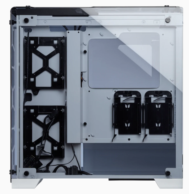 Corsair RGB Computer Case 570X Side window, White, Mid-Tower