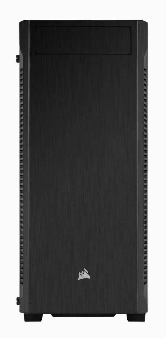 Corsair Tempered Glass Mid-Tower ATX Case 110R Side window,  Mid-Tower, Black, Power supply included No, Steel, Tempered Glass
