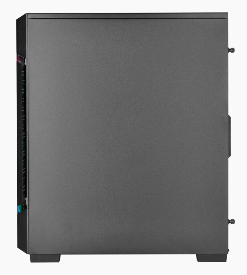 Corsair Airflow Tempered Glass Mid-Tower Smart Case iCUE 220T RGB Side window,  Mid-Tower, Black, Power supply included No, Steel, Tempered Glass